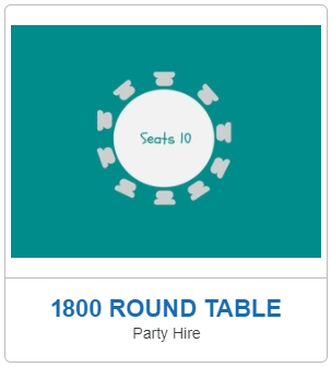 table hire darwin 1800 roundtable