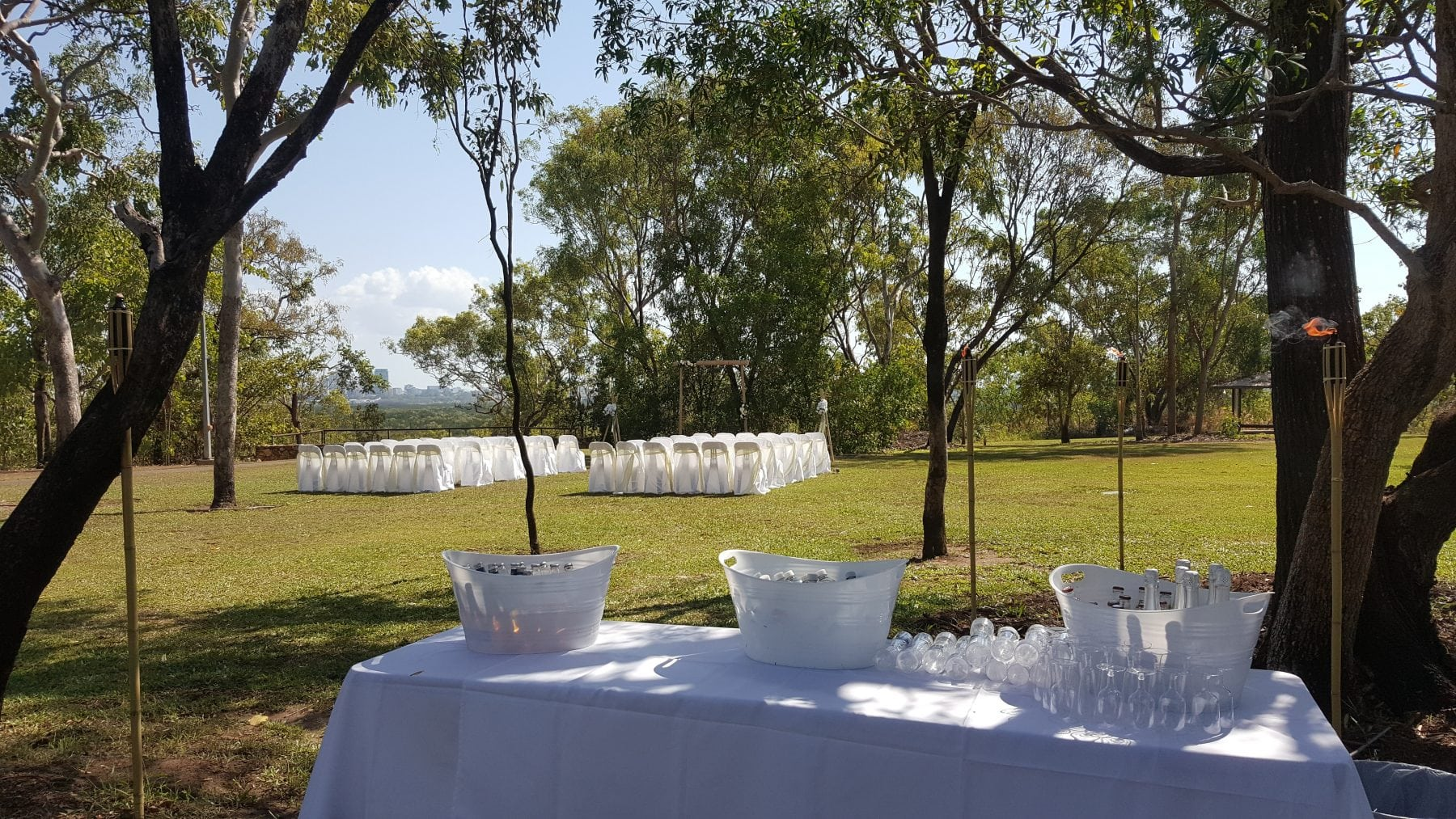 Top End Party Hire and wedding ceremonies